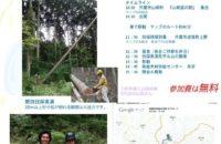 夏休み企画 木こりに出会える 山の見学会に行こう!