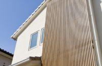 音に配慮した完全分離型の二世帯住宅