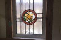 ステンドガラスの特注窓