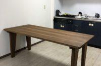 杉材でテーブル作り