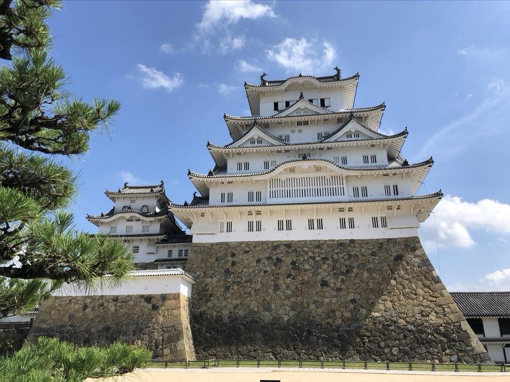 コロナ自粛あけの姫路城